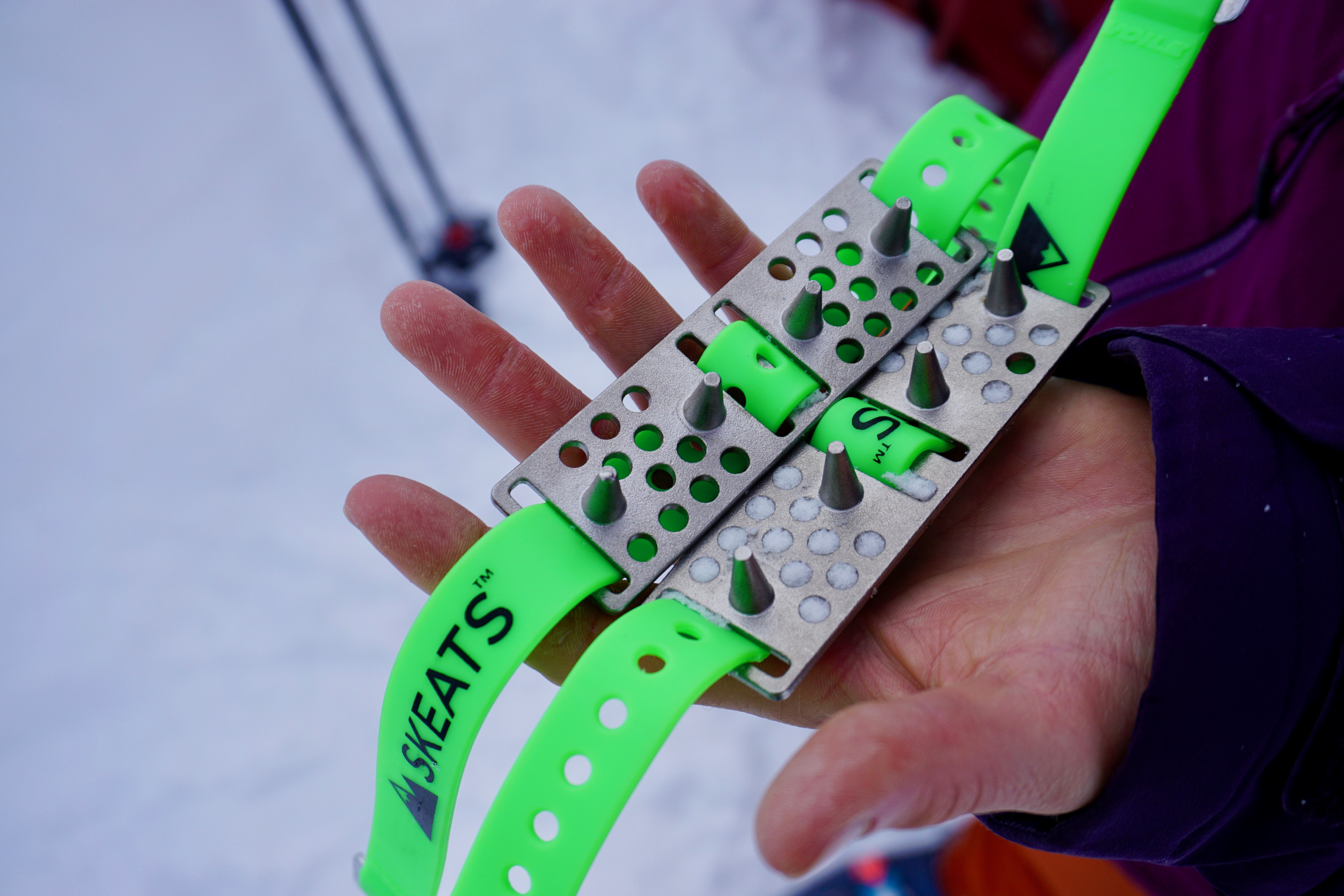 Skeats - An Innovative Ski Crampon